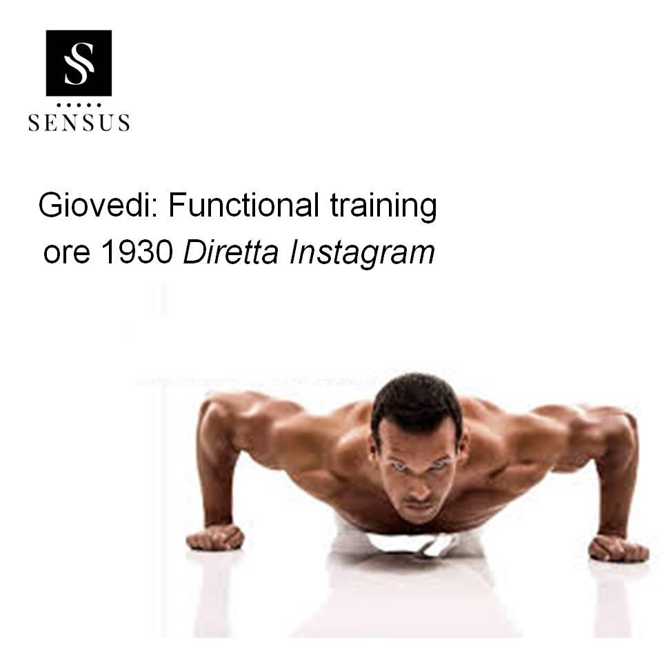 allenamento diretta instagram