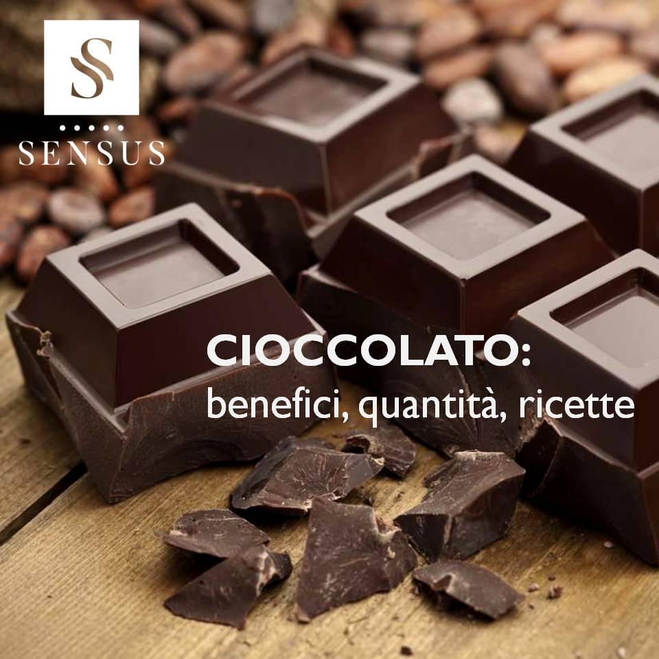 Cioccolato: Benefici, Quantità, Ricette
