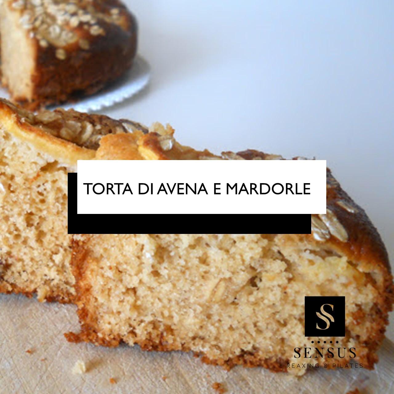 TORTA DI AVENA E MANDORLE