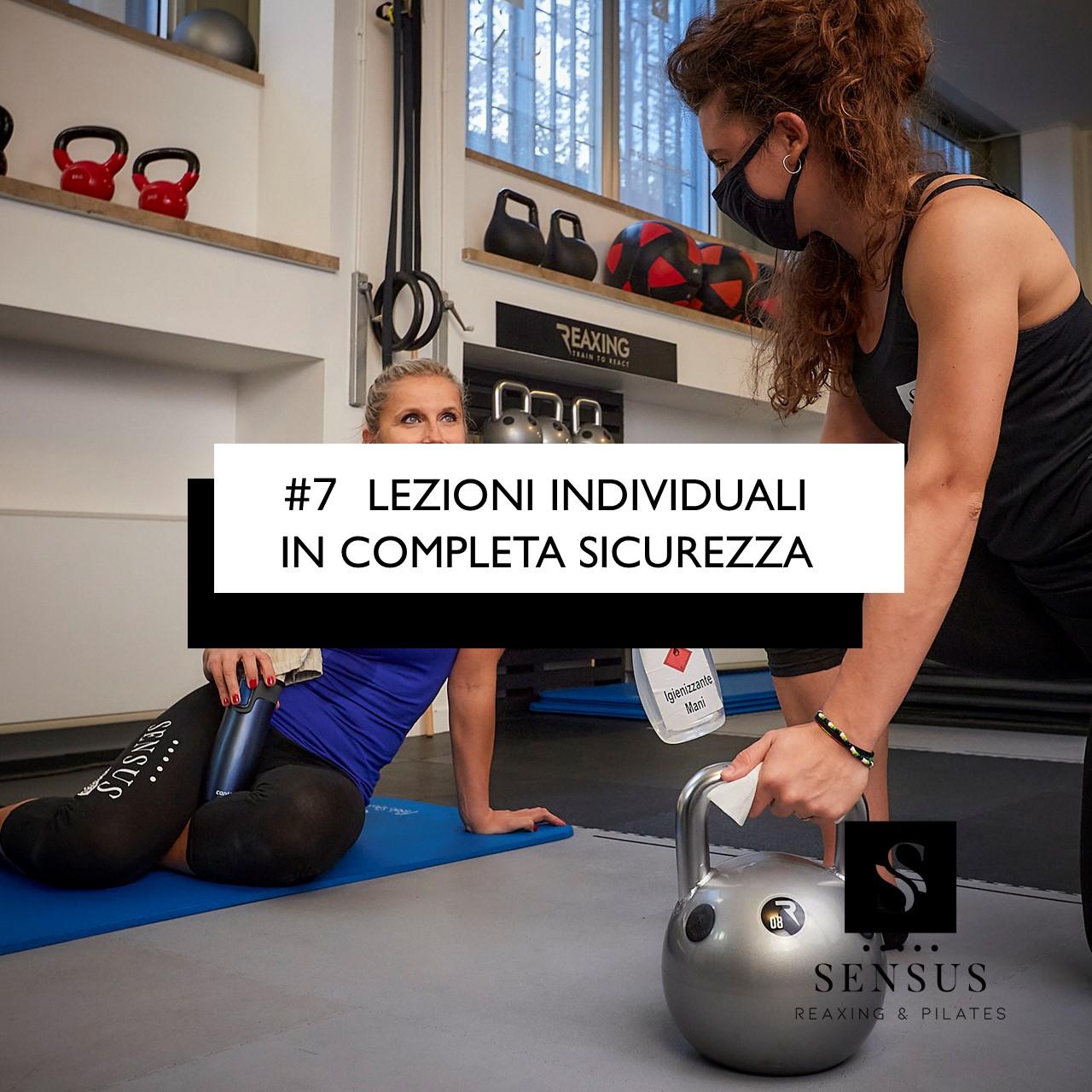 #7 LEZIONI INDIVIDUALI IN COMPLETA SICUREZZA