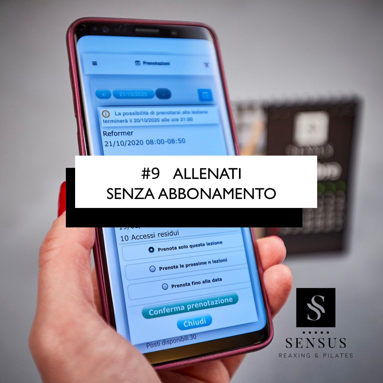 #9 ALLENATI SENZA ABBONAMENTO