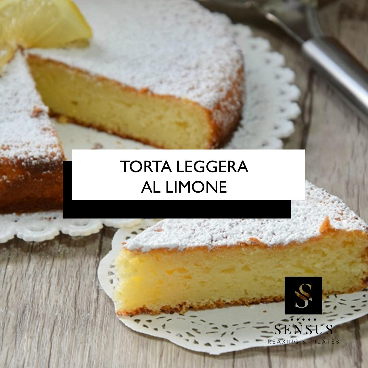 Torta Leggera Al Limone